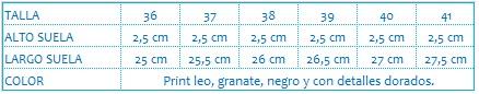 Deportivo print leo VEGA